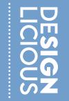 Logo DesignLicious blue